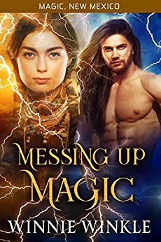 Messing Up Magic by Winnie Winkle book cover