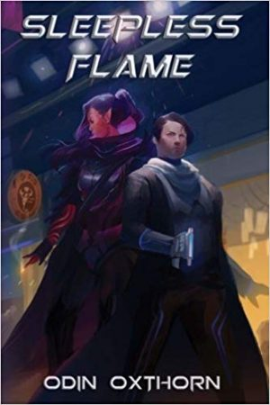 Sleepless Flame by Odin Oxthorn book cover