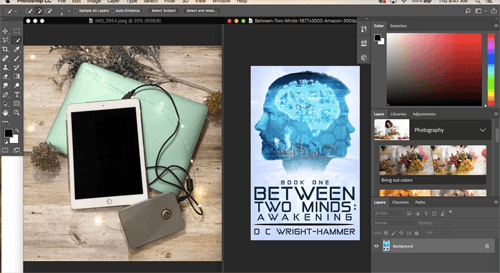 Photoshop Tutorial For Book Blogging Floating Windows