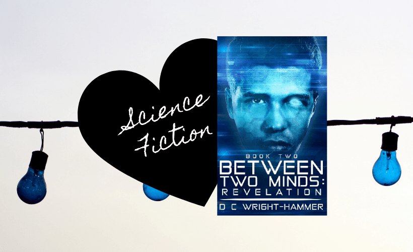 Between Two Minds Revelation Book Cover with black heart