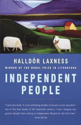 Books About Iceland Independent People Halldor Laxness