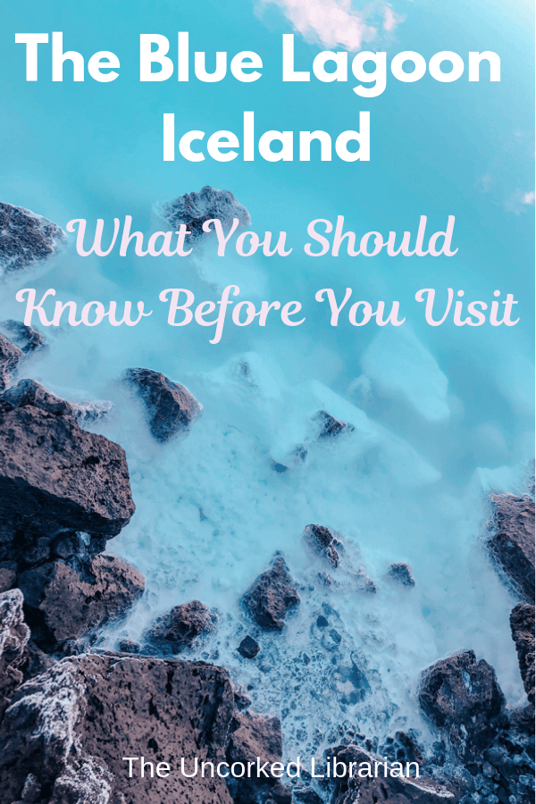 What you should know before you visit the Blue Lagoon Spa pin cover with blue water and black rocks