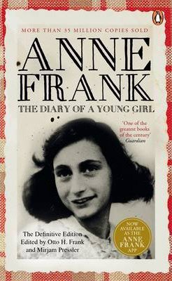 World War 2 nonfiction The Diary of a Young Girl Anne Frank book cover
