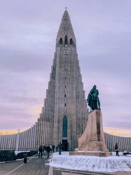 24 hours In Reykjavik Hallgrímskirkja Church