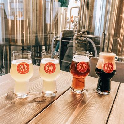 Brewery in Reykjavik, Iceland RVK Brewing