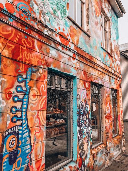 One Day in Reykjavik Iceland Laugavegur Street Art