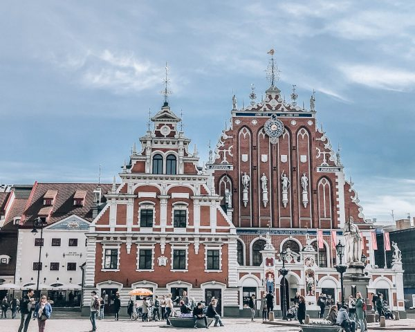 Baltics Itinerary Riga Town Hall Square in Latvia