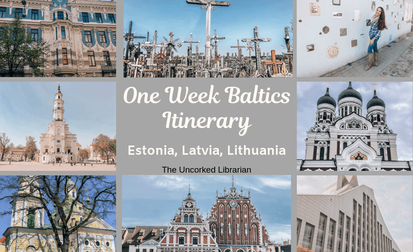 One Week Baltics Itinerary Collage