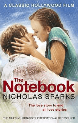 Romance novels set in North Carolina The Notebook Nicholas Sparks