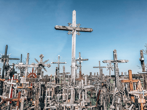 Week Long Baltics Itinerary Hill of Crosses