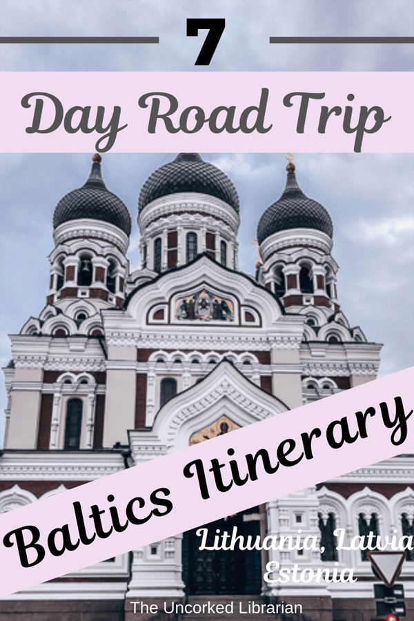 Week Long Baltics Itinerary Pin