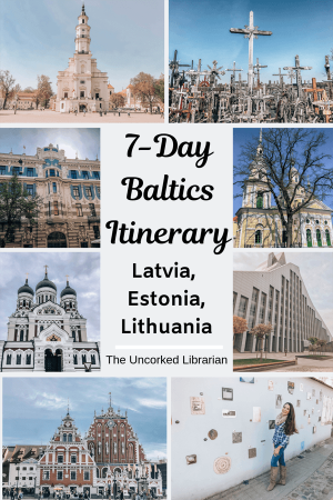 Weeklong Baltics Road Trip Pin