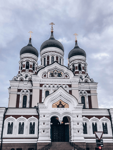 What To See In The Baltics Alexander Nevsky Cathedral in Tallinn, Estonia