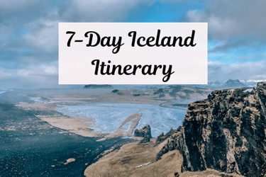 One week in Iceland driving itinerary