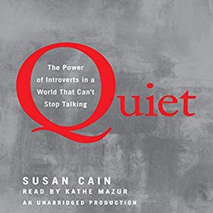 Best Audiobooks For Road Trips Quiet by Susan Cain book cover