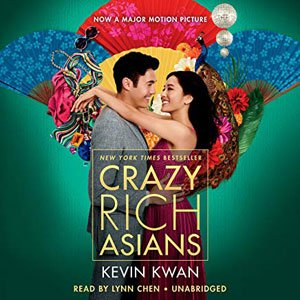 Best Audiobooks For Road Trips Crazy Rich Asians by Kevin Kwan