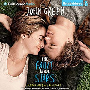 Best Audiobooks For Road Trips The Fault In Our Stars by John Green