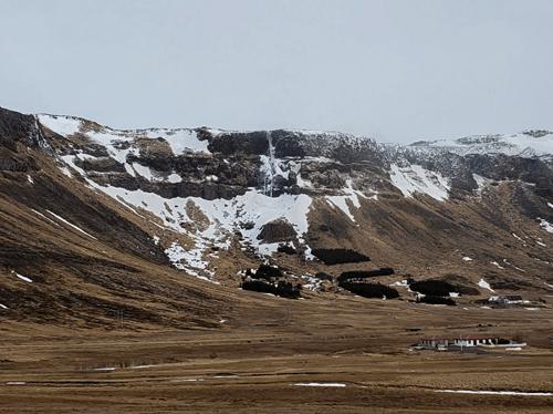 Bjarnarfoss Waterfall Iceland