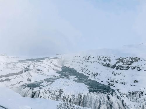 Iceland Waterfalls Gullfoss