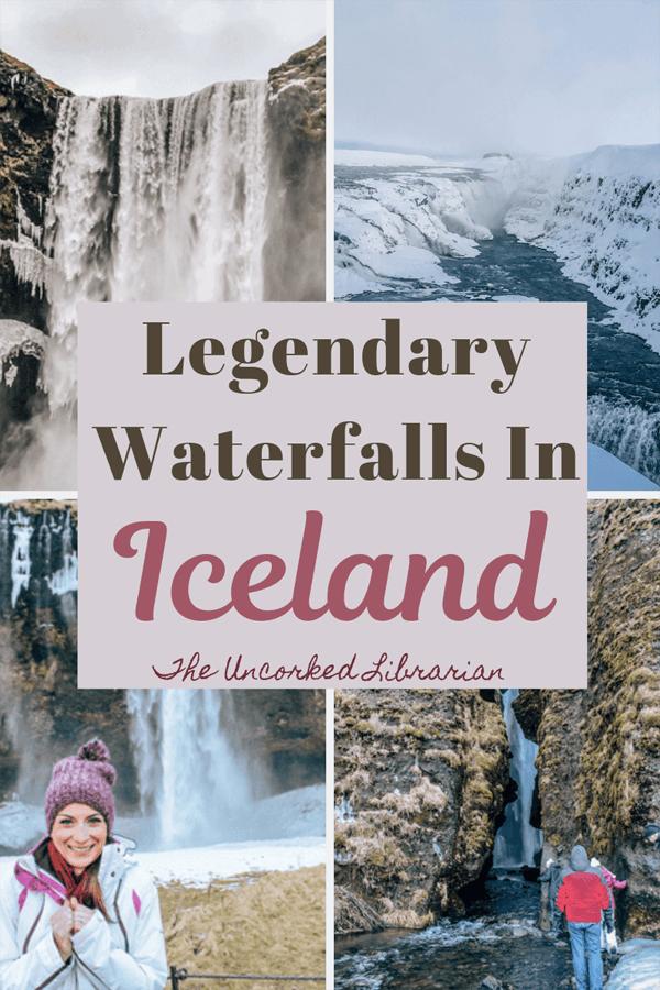Legendary Southern Iceland Waterfalls Pin