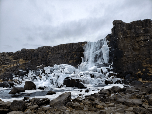 Oxrarfoss Souther Iceland Waterfalls