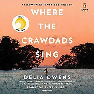 Road trip audiobooks Where the Crawdads Sing by Delia Owens