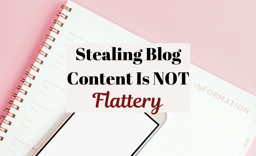 Stealing Blog Content