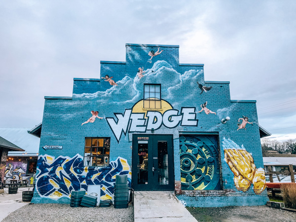 Wedge Brewing At Foundation in River Arts District Asheville