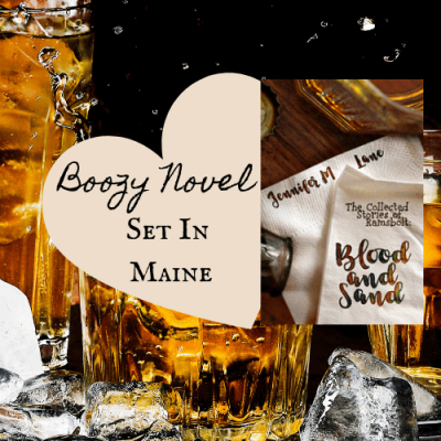 Boozy Maine Book Review: Blood and Sand by Jennifer M Lane