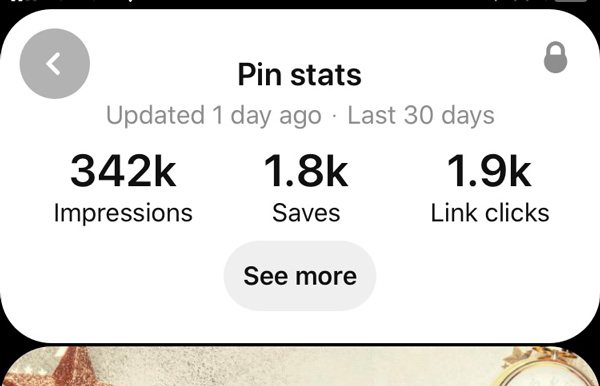 Book blogging tips with Pinterest screenshot with a viral pin on Pinterest