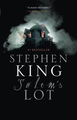 Salem's Lot by Stephen King book cover with gray house in fog