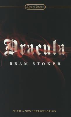 Classic Vampire Books For Adults Dracula by Bram Stoker black book cover with red blood over lettering
