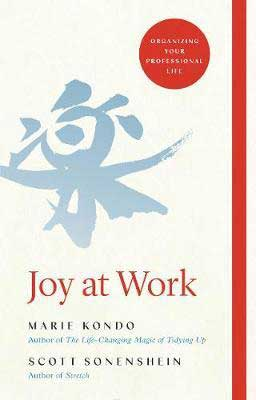 best nonfiction books of the year, Joy At Work by Marie Kondo and Scott Sonenshein book cover