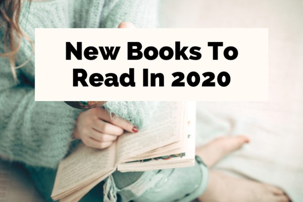 Upcoming 2020 Book Releases with woman in light green sweater reading