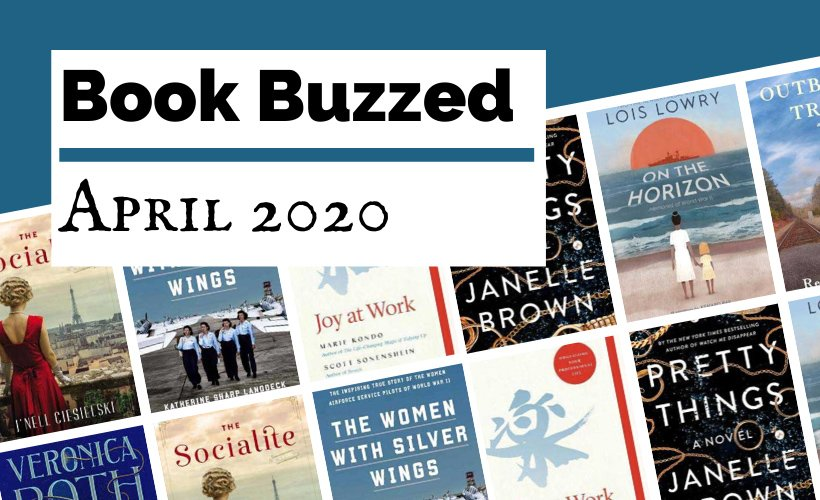 Book Buzzed April 2020 Book Releases