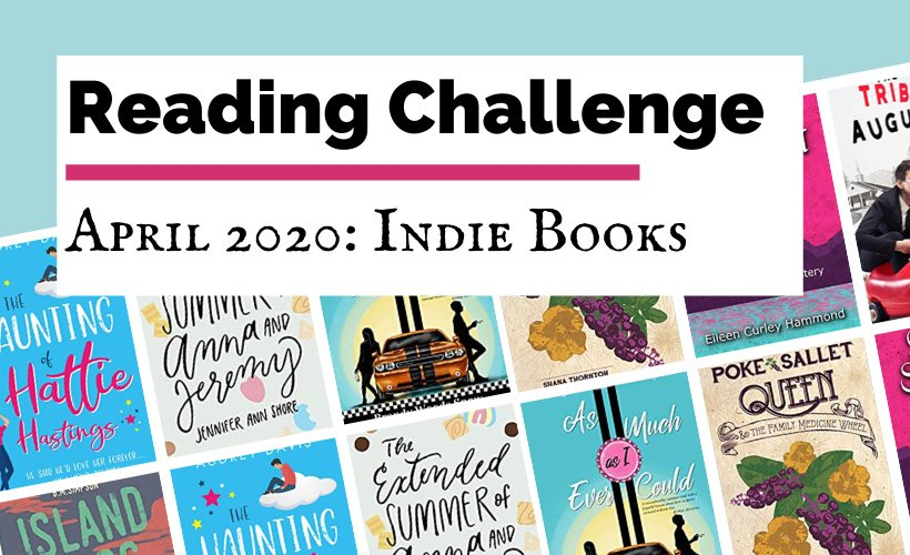 Reading Challenge Indie April 2020 Book Discussion