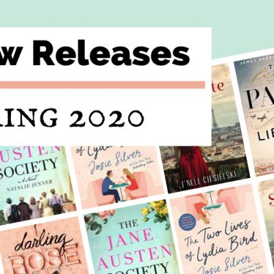 Comforting & Escapist Spring 2020 Book Releases