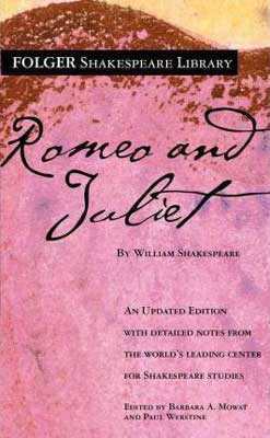 Classic books set in Italy, Romeo and Juliet by William Shakespeare pink book cover