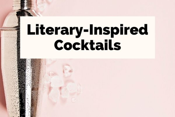 Literary Cocktails with shaker