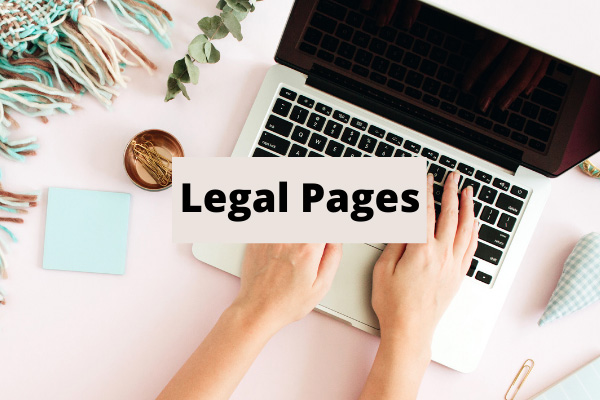 Legal Protection Templates For Blogs and Websites