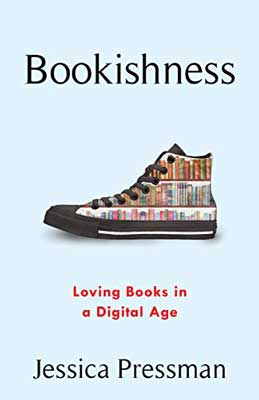 Bookishness by Jessica Pressman book cover with shoe with books on it