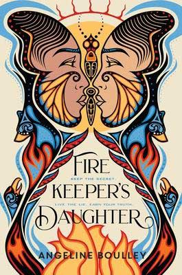 Firekeeper's Daughter by Angeline Boulley book cover with two faces looking into each other