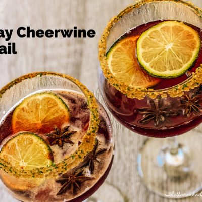 Holiday Cheerwine Cocktail – Your Own Little Punch Bowl In A Glass