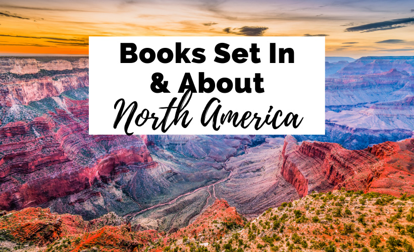 Books about and set in North America with picture of Grand Canyon