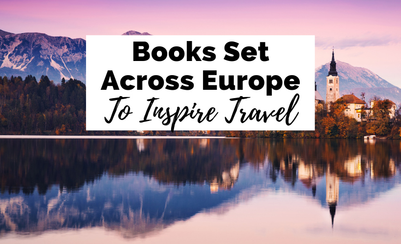 European Books and Books Set In Europe with picture of church on Bled Lake in Slovenia