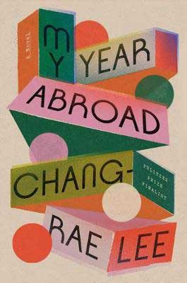 book cover My Year Abroad by Chang-Rae Lee