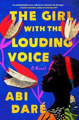 The Girl With The Louding Voice by Abi Daré book cover