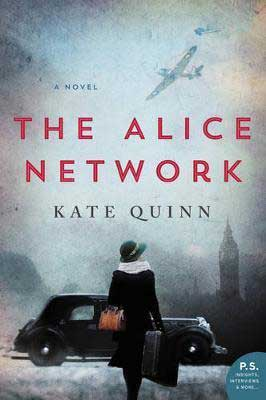 The Alice Network by Kate Quinn book cover
