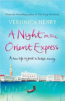 A Night on the Orient Express by Veronica Henry book cover