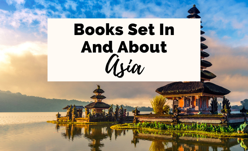 Books Set in and about Asia with picture of Pura Bratan in Indonesia